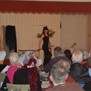 Hannah wows the audience as she Puts on the Ritz